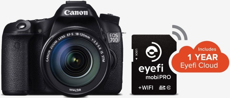 Eyefi ra mắt thẻ nhớ hỗ trợ chuyển tập tin RAW qua Wi-Fi