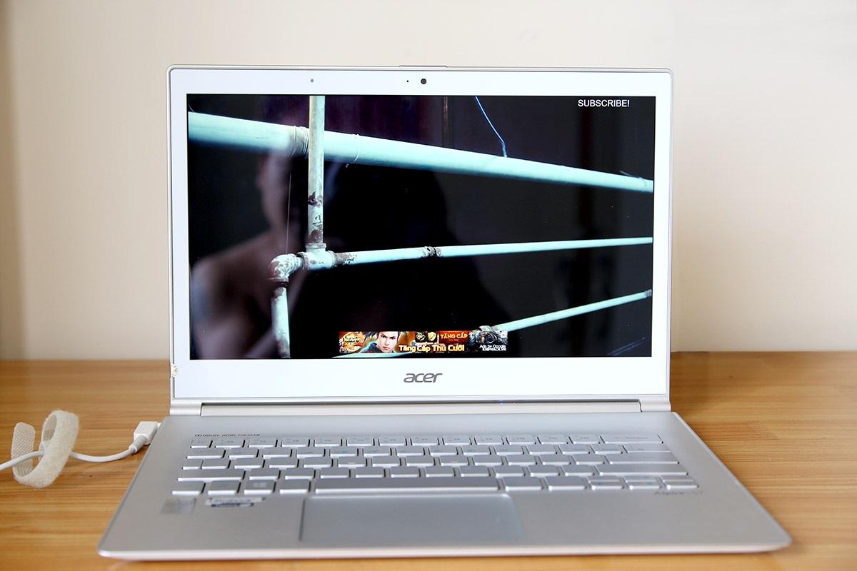 Đánh giá Acer Aspire S7-393: ultrabook Aspire S7 siêu mỏng