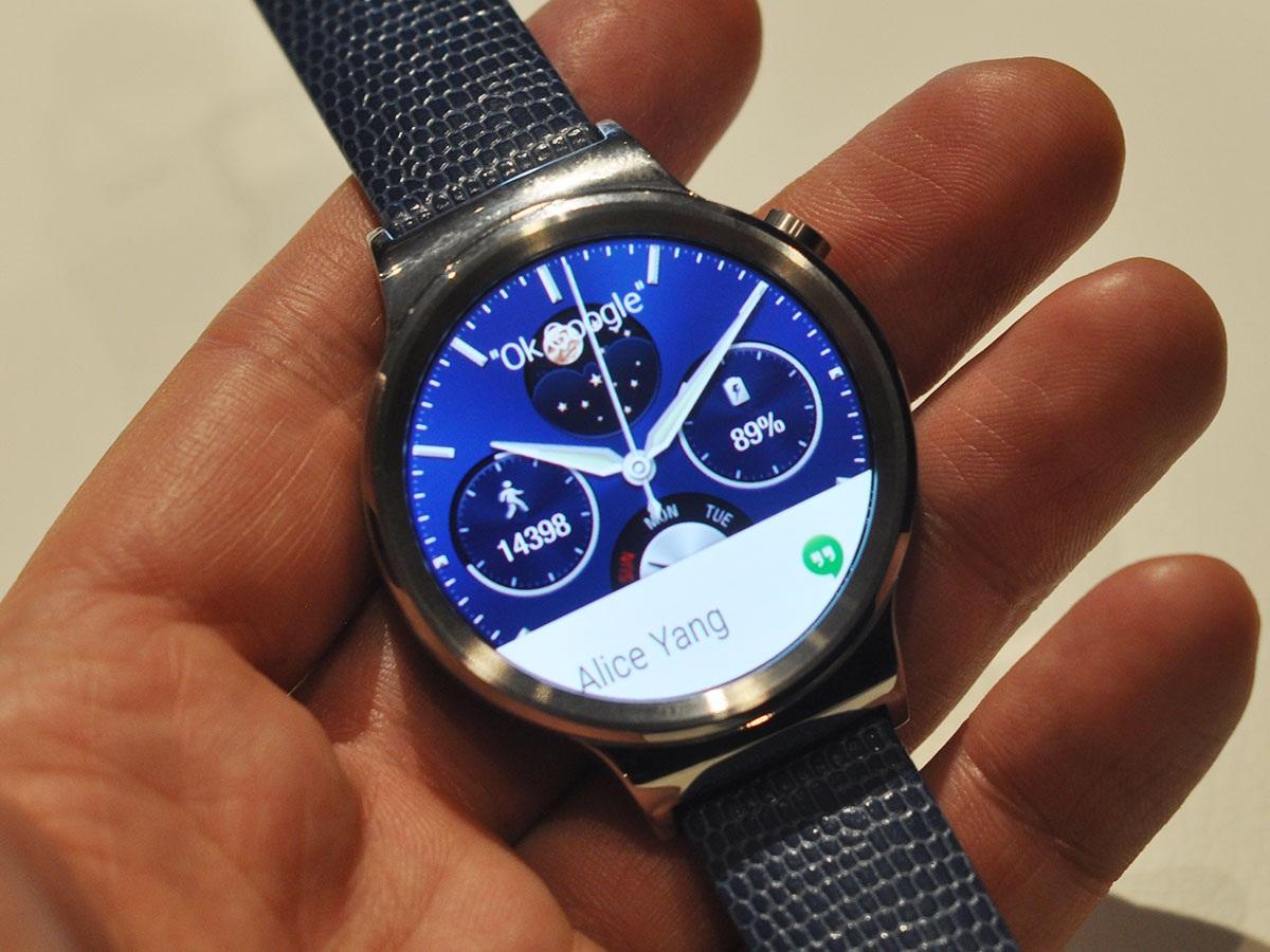 Đây được xem là chiếc đồng hồ thông minh đúng nghĩa củanhà sản xuất đến từ Trung Quốc.