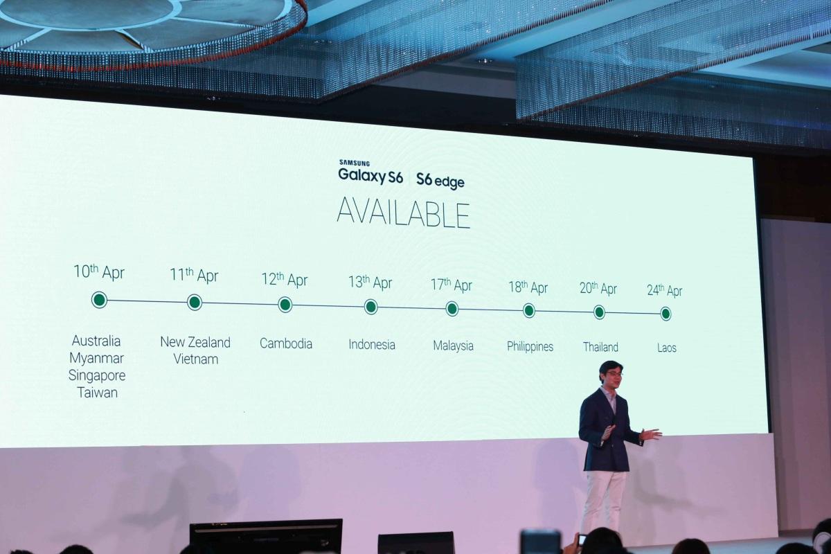 Galaxy S6 và S6 Edge sẽ chính thức bán ra từ ngày 10/4