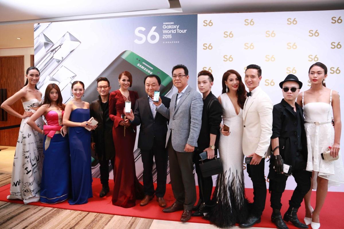 Đại diện Samsung Việt Nam cùng dàn Sao Việt góp mặt trong đêm sự kiện 1/4