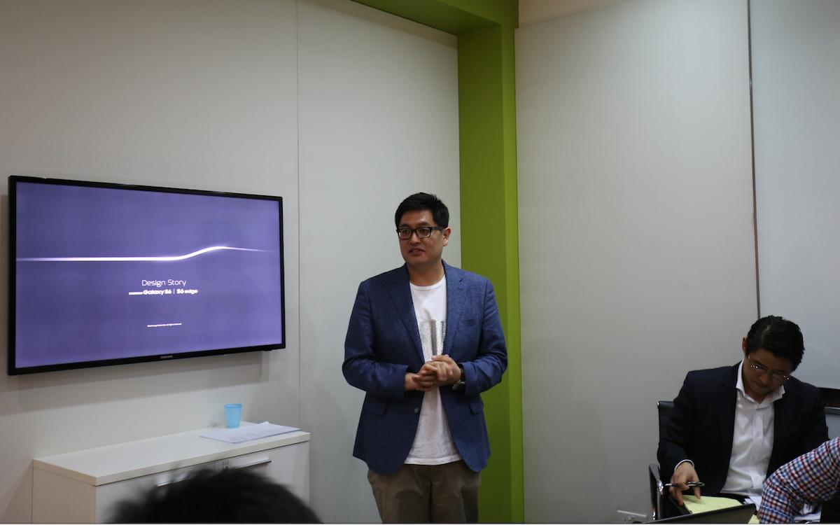Hong Yeo -nhà thiết kế cấp cao phụ trách thiết bị của Samsung