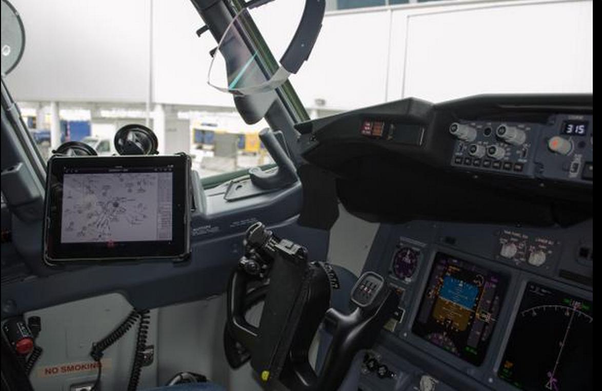 iPad trên máy bay của hãngAmerican Airlines