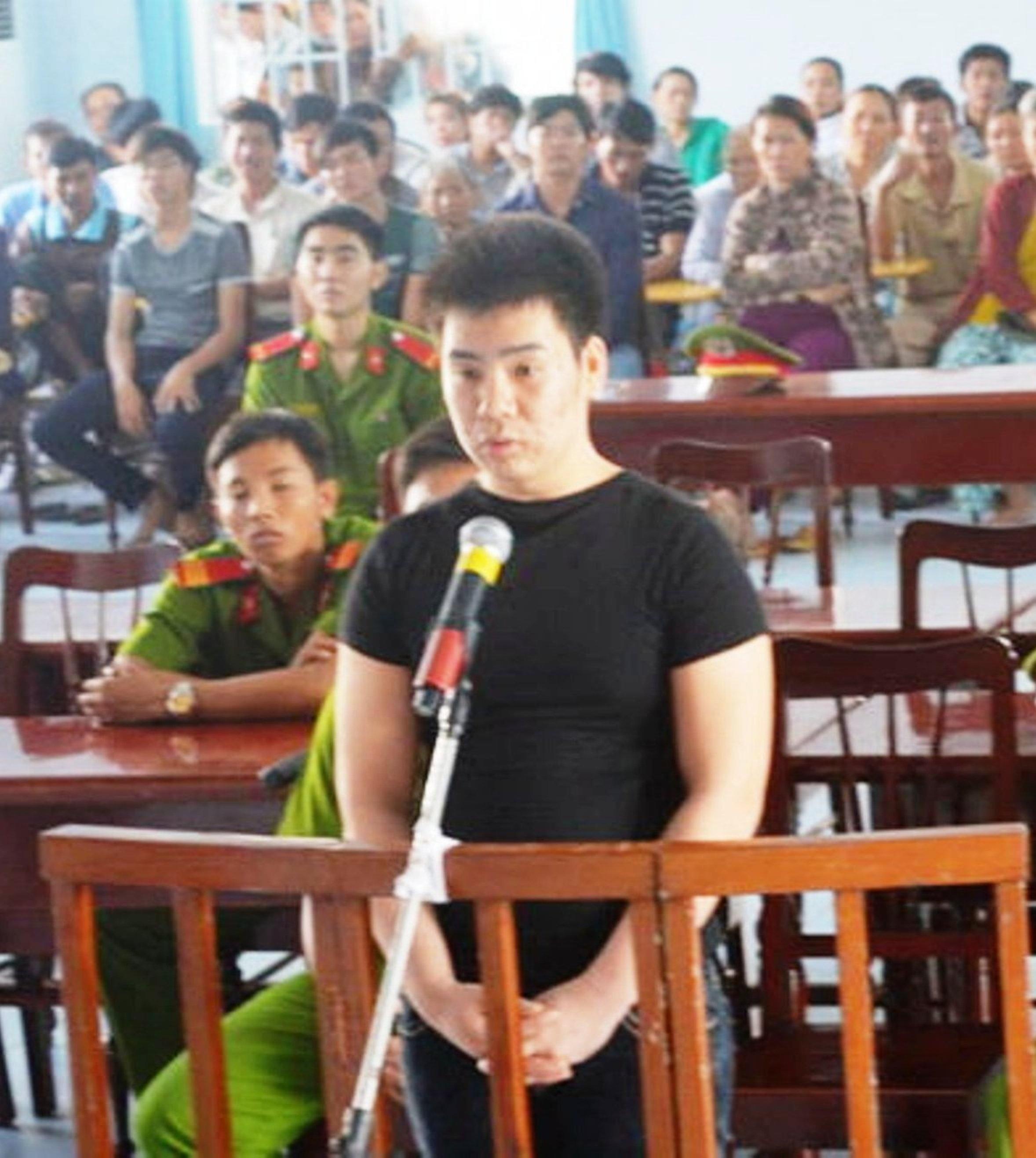 Bị cáo Nguyễn Văn Sung