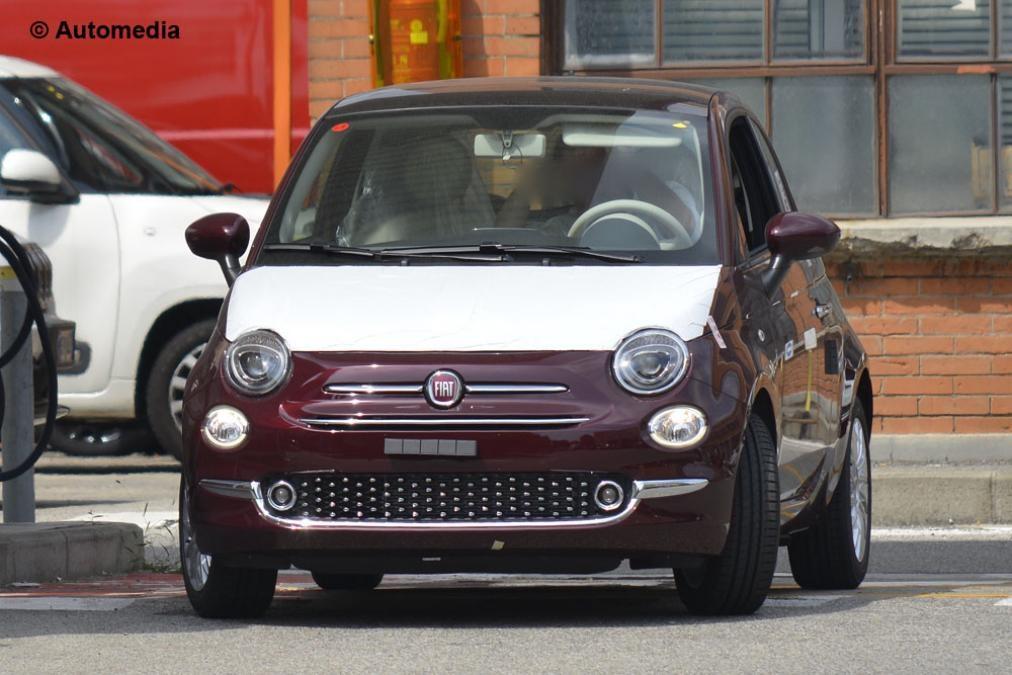 Fiat 500 facelit 2016