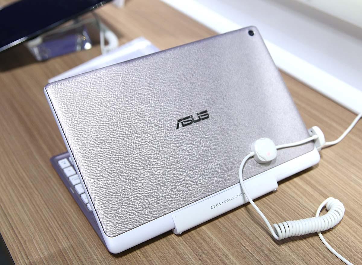 Mặt trước của tablet với thiết kế lớp vân nổi