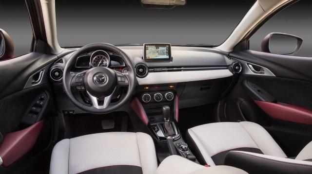 Dòng crossover Mazda CX-3 2016 giá 20.840 USD tại Mỹ
