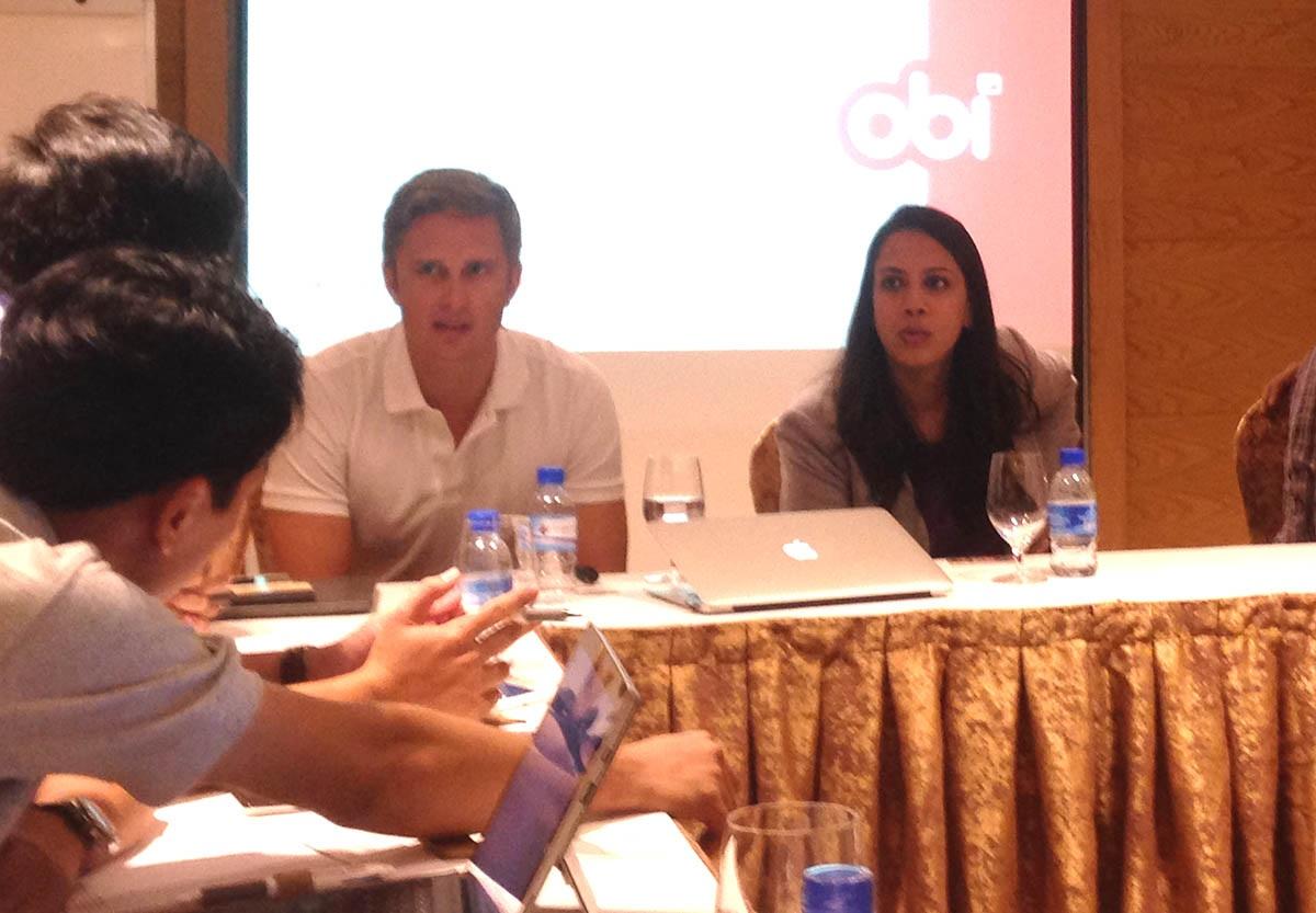 Đại diện Obi Mobiles chia sẻ chiến lược phát triển tại Việt Nam