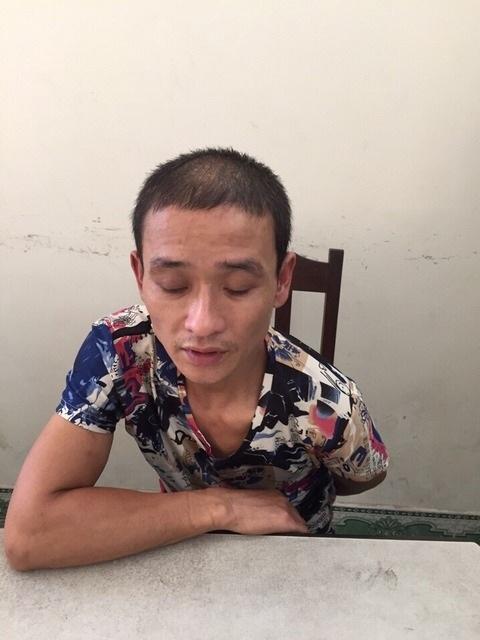 Trùm phân phối ma túy núp bóng cửa hàng sửa cữa điện tử Nguyễn Mạnh Hùng tại cơ quan công an (ảnh báo An ninh hải phòng)
