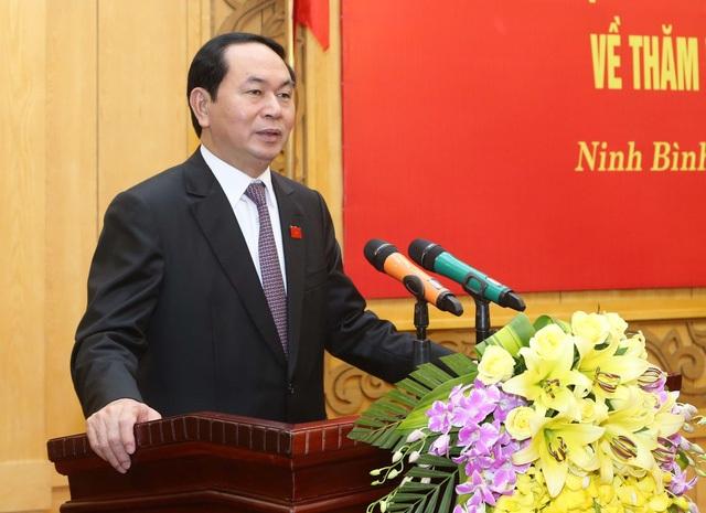 Chủ tịch nước Trần Đại Quang (Ảnh: TTXVN)