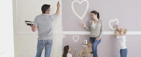 Gia đình bạn có thể gặp những vấn đề lớn về sức khỏe với sơn tường mới