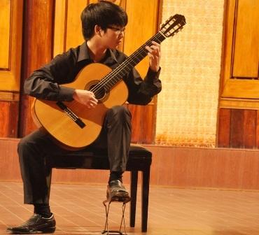 Nguyễn Quốc Duy Anh thí sinh đạt giải nhất ở bảng B