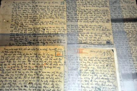 Bản thảo viết tay của nhà văn Vũ Trọng Phụng
