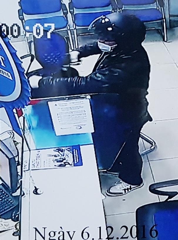Hình ảnh nghi phạm trong camera được trích xuất (ảnh Đại Dương)
