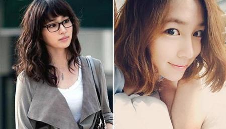 """Bà xã của Lee Byung Hun vẫn rất duyên dáng trong mái tóc ngắn ngang vai. Rũ bỏ hình tượng hiền lành, dịu dàng cùng mái tóc dài, Lee Min Jung đã """"lột xác"""" đầy tươi trẻ và quyến rũ với mái tóc ngắn."""