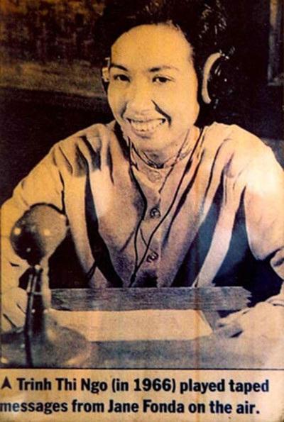Bà Trịnh Thị Ngọ trên báo Mỹ năm 1966