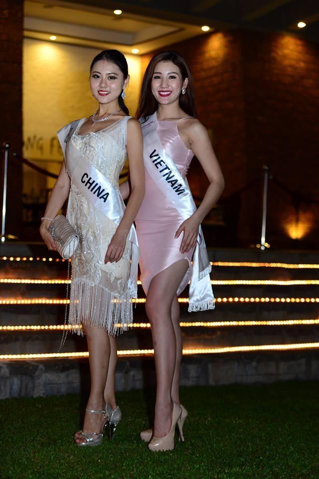 Bảo Như thân thiết với hoa hậu cùng phòng Philippines - 4