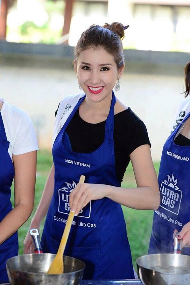 Bảo Như hé lộ trang phục truyền thống trước đêm chung kết Hoa hậu Liên lục địa - 15
