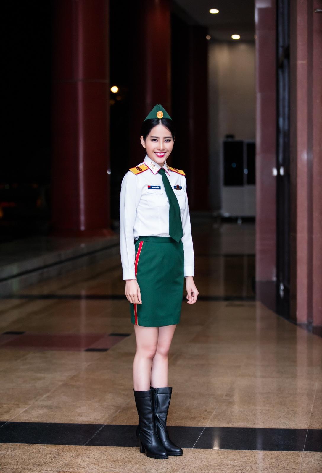 Nam Đẹp và ấn tượng với phong cách người lính