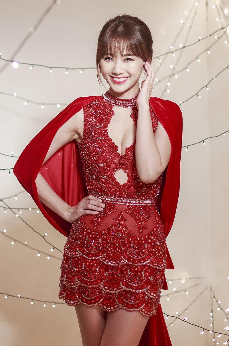 Hari Won khoe dáng thon gọn, xóa tin đồn bầu bì trong suốt thời gian qua khi lên cân khiến cô trông đẫy đà hơn