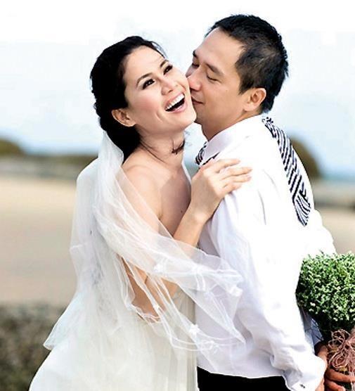 Hình ảnh Thân Thuý Hà và chồng cũ
