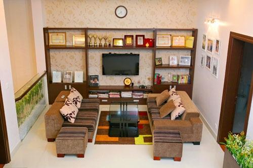 Các phòng ốc trong nhà đều được thiết kế rộng rãi, sang trọng và hiện đại.