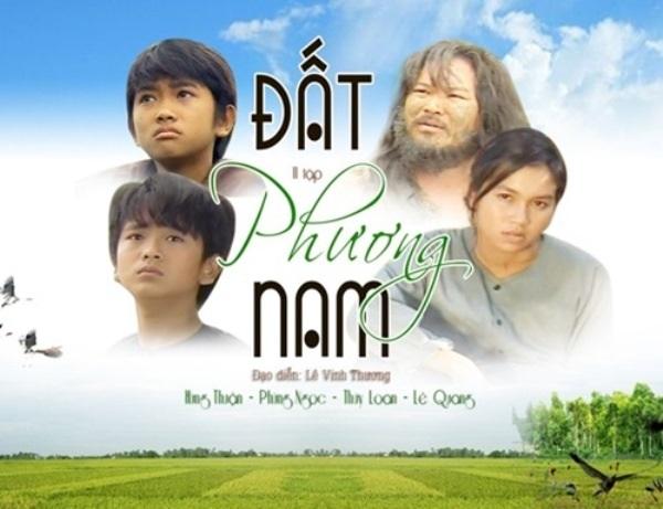"""Sau hơn 20 năm ra đời, bộ phim vẫn liên tục được trình chiếu trên nhiều kênh truyền hình địa phương. """"Đất phương Nam"""" cũng là phim dài tập đầu tiên của Việt Nam được xuất khẩu sang Mỹ được khán giả ủng hộ nồng nhiệt."""