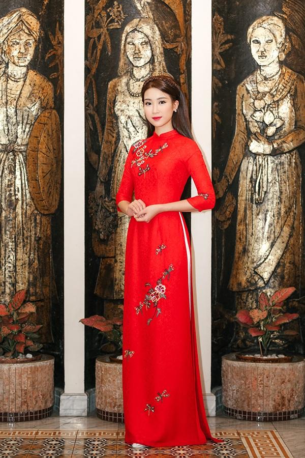 Vì sao chọn Hoa hậu Đỗ Mỹ Linh đại diện hình ảnh cho Lễ hội áo dài TPHCM? - 3
