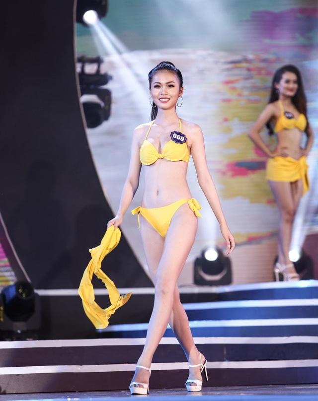 Kim Ngọc mang số báo danh 069 cùng chiều cao 1m71 với số đo 3 vòng là 83 – 61 – 93. Ở vòng thi bikini Nguyễn Thị Kim Ngọc cũng không gây nhiều ấn tượng với vóc dáng cũng như hình thể của mình
