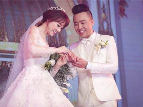 """Cái kết đẹp của cặp đôi """"phim giả tình thật"""" ồn ào nhất 2 năm qua trong showbiz Việt."""