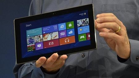 Doanh số bán hàng của máy tính bảng Surface đã không được như mong đợi