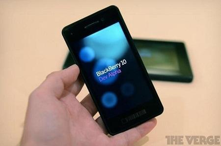 RIM đang đặt nhiều hy vọng vào màn trình làng BlackBerry 10 sắp tới