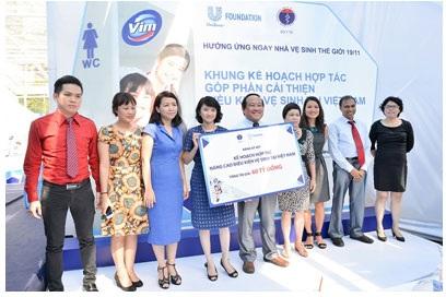 Hợp tác chiến lược nâng cao điều kiện vệ sinh cho 10 triệu người Việt