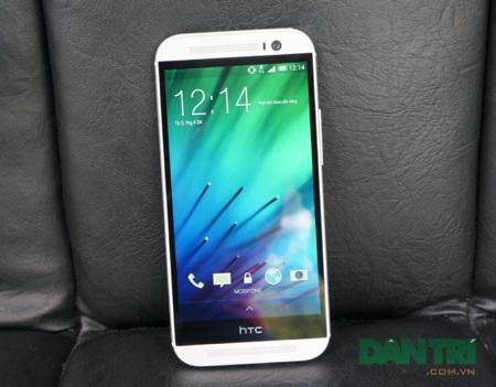 Đánh giá HTC One M8 - smartphone thiết kế đẹp, hiệu suất cao