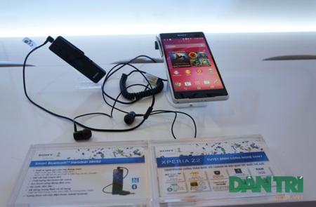 Xperia Z2 được trưng bày tại sự kiện Sony 4K.