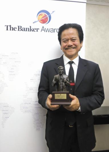 Sacombank nhận giải thưởng Ngân hàng tiêu biểu năm 2014 tại Việt Nam