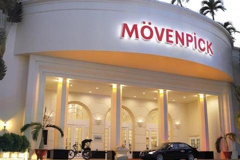 Khách sạn 5 sao Movenpick Saigon.