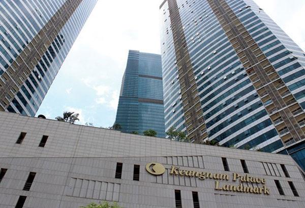 Keangnam Landmark Tower cao 72 là toà nhà cao nhất Việt Na