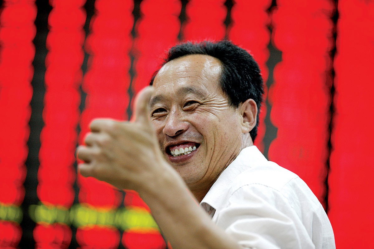 Ai thổi bong bóng chứng khoán Trung Quốc?