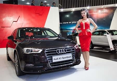Ca sĩ Đông Nhi - Đại sứ thương hiệu cho Audi A3 Sportback