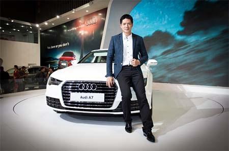 Diễn viên Bình Minh - Đại sứ thương hiệu Audi Q5