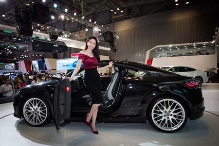 Diễn viên Trương Ngọc Ánh - Đại diện thương hiệu Audi Q7