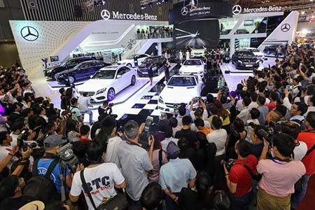 Mercedes-Benzvà những con số ấn tượng tại Triển lãm ô tô Việt Nam
