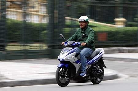 Yamaha Nouvo mới tiêu thụ nhiên liệu sao?