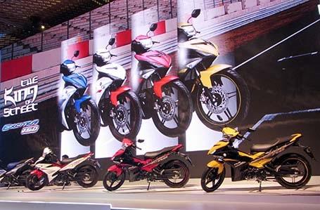 Yamaha Exciter 150 có giá bán từ 44,9 triệu đồng