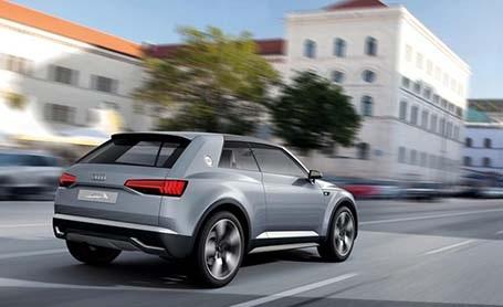 Audi công bố phác thảo Q1