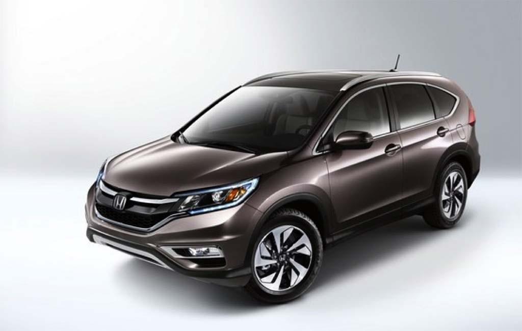 8 - Honda CR-V: