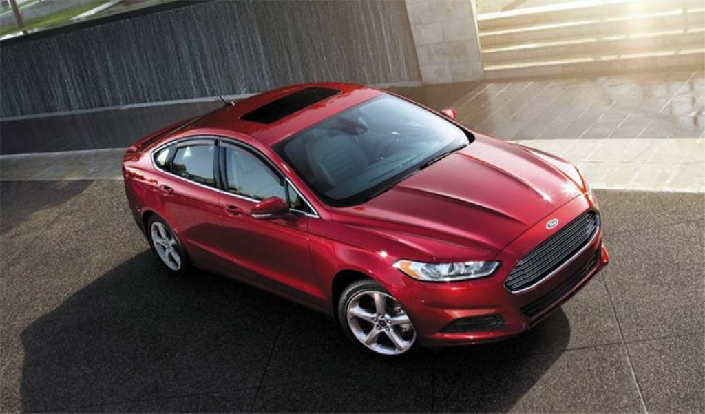 10 - Ford Fusion