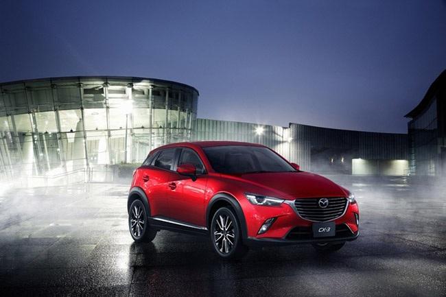 Mazda công bố chi tiết thông tin về CX-3 2016