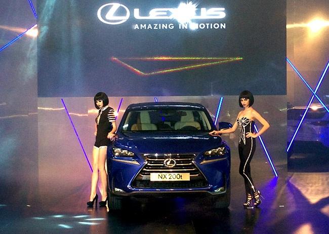 Có mặt tại Việt Nam, Lexus NX sẽ